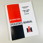INTERNATIONAL HARVESTER 3388 3588 3788 TRACTOR OPERATORS OWNERS MANUAL