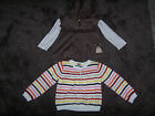 Gymboree Girls Size 3 4 Purrfect Autumn 2 Piece Hoodie  Cardigan Sweater VGUC