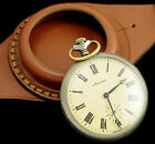 Antique WW1 times NEW LEATHER STRAP BAND WRISTBAND FOR POCKET WATCH 50mm
