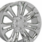 OEW Fits 22x9 Chrome Silverado Wheels 22 Rims Chevy GMC Sierra