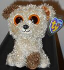 Ty Beanie Boos - ROOTBEER the Dog (Original Version)(6 Inch) NEW MWMT