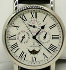 Chronoswiss CH1721W Perpetual Calendar MoonPhase 18kt White Gold Box/Open Papers