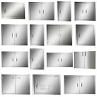 Multi size BBQ Double Single Doors Outdoor Kitchen Stainless Steel Access