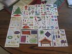 Creative Memories Christmas Holiday Block Stickers You Choose