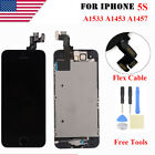 For iPhone 5S Touch Screen Replacement LCD Dispaly Digitizer Assembly + Frame