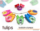 TULIPS BOBBIN HOLDER / CLAMP ..., Bobbin Organizer 36 pieces