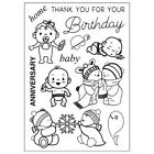Cartoon Animal Transparent Clear TPR Rubber Stamp Scrapbooking Card Craft Y2