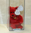 Authenticated Billionaire Bear 9 (signed #24/480) MWMT-MQ Ty Beanie Baby (AP)