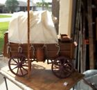 Big Scale Wooden Old Hand Made Western Cowboy Model Chuck Wagon