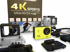 TRIXES 4K Ultra HD Sports Action Camera WiFi 16MP Wide-Angle Lens
