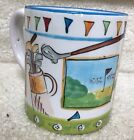MESA Coffee Mug Golf /Write on /Glossy By Tracy Flickinger