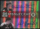 Bobby Orr Phil Esposito 17 25 Dual Auto 2009 10 The Cup Stanley Signatures