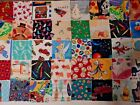 120 Kid Prints I SPY quilt block sew cotton fabric 3 and 1 2 squares