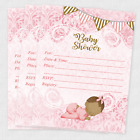 20 Baby Shower Invitations Invites Favors Invites Decorations Cards Girl