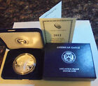 2011 W Proof American Silver Eagle Complete with Both Boxes COA OGP Mint Sealed