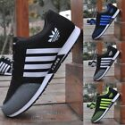 NEW Mens Fashion Sneakers Breathable Canvas Running Sport Athletic Casual Shoes