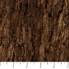 BY 1 2 YD NATURESCAPES NORTHCOTT FABRIC brown bark tree trunk wood 21381 36
