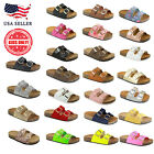 New WomenKids Glitter Sandals Gladiator Thong Flops Flip Flat Strappy Shoes