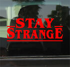 Stranger Things - Stay Strange 8 Inch Vinyl Sticker