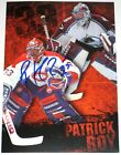 PATRICK ROY SIGNED MONTREAL CANADIENS COLORADO AVALANCHE PHOTO AUTOGRAPH AUTO!
