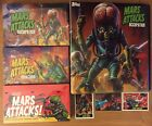 Mars Attacks Occupation Invasion Heritage SEALED BOX SET+BINDER +Promos,Stan Lee