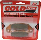 Kawasaki KR1 s  KR250C3  Brake Disc Pads Rear R/H Goldfren 1991
