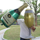 Hot Foil Balloons Champagne Bottle Wedding Birthday Party Decor Valentine Day