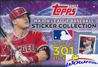 2017 Topps Baseball Stickers MASSIVE Factory Sealed 50 Pack Box-400 Stickers !!