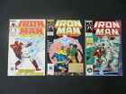 IRON MAN 219 221 1ST APP GHOST ANT MAN  THE WASP MOVIE 3 ISSUE SET 001