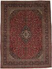 Handmade Traditional S Antique Mashad Persian Rug Oriental Area Carpet 10X13