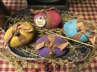 Primitive* Hand-crafted* Grubby* Pastel Eggs* Bowl Fillers* Ornies* Easter