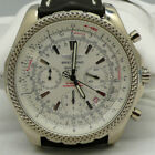 Breitling Bentley 18kt White Gold 49mm Automatic Chronograph Watch No Reserve!!