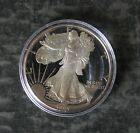 1993 P American Silver Gem Proof Eagle 1 Dollar Coin No Reserve