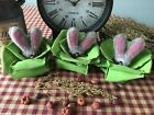Primitive* Hand-crafted* Grubby* Bunny in Cabbage* Bowl Fillers* Ornies* Easter