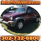 2003 Jeep Liberty SPORT/FREEDOM MAROON below $3000 dollars