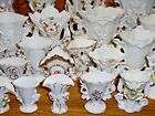 Large Lot Of Old Paris Porcelain Vases - Damage - Assorted Sizes Some Miniature
