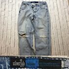 90s VTG LEVIS SILVERTAB Jeans RELAXED Baggy GRUNGE 34x31 Distressed DESTROYED