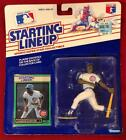 1989 STARTING LINEUP CHICAGO CUBS SHAWON DUNSTON FIGURE FIGURINE ~ EUC ON CARD