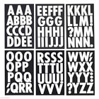 Big Font Metallic Alphabet Letter Stickers Caps 3 Inch 82 Count