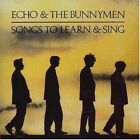 ECHO & THE BUNNYMEN: Songs To Learn & Sing [BRING ON THE DANCING HORSES,SILVER+]