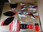 CRF Team Honda graphics & number plates backgrd CRF250R 2006 2007 2008 2009
