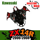 Injection ABS Fairing Bodywork Set Kit for Kawasaki Ninja ZX14 ZZR 1400 06-08 07
