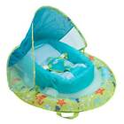 SwimWays Inflatable Fabric Infant Baby Spring Swimming Pool Float with Canopy
