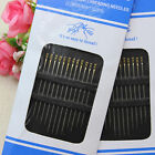 24Pcs Hand Stitches Needles Self Threading Easy to Thread Assorted Pins