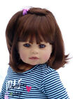 Masterpiece Dolls Wednesdays Child Brunette Wig Fits up to 17 Inch Head
