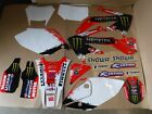 Team Honda graphics & number plates  Honda CRF450X  2005-2018
