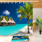 Tropical Scenery Shower Curtain 72x72