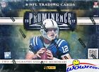 2012 Panini Prominence Football Factory Sealed HOBBY Box-3 AUTOGRAPH MEMORABILIA