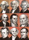 2015 Pastime Presidential Portraits Trading Cards 7