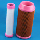 Outer & Inner Air Filter For Kubota K3181-82240 and K3181-82250 Engine